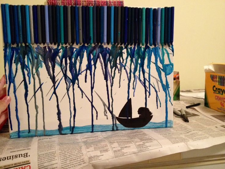 Melted crayon art number 2
