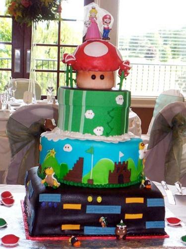 Luscious Layers BakeryMario Cake, Cake Gm, Cool Cakes, Cakes Cupcakes, Bros Cake, Wedding Cakes, Cake Cake