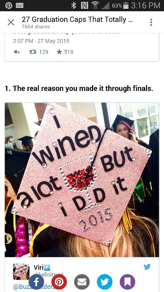346 best images about college on pinterest colleges for Accounting graduation cap decoration
