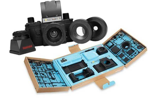 Un kit para construir tu propia camara reflex, perfecto para regalar  http://clubdefotografia.net/regalos-para-fotografos/