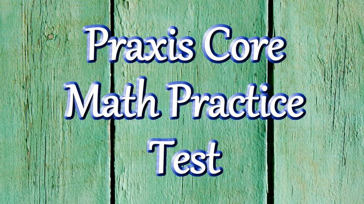 Praxis Core Math Practice Test -  This video contains 25 practice questions to help you prepare for your Praxis Core math exam.