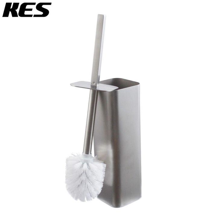 KES SUS 304 Stainless Steel Toilet Brush and Holder for Bathroom Storage Brushed Finish, BTB205-2 - ICON2 Luxury Designer Fixures  KES #SUS #304 #Stainless #Steel #Toilet #Brush #and #Holder #for #Bathroom #Storage #Brushed #Finish, #BTB205-2