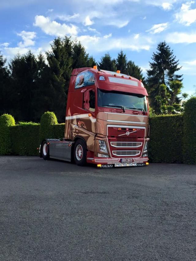Truck made in Belgium :: Volvo FH 6 - Transport Ceusters.