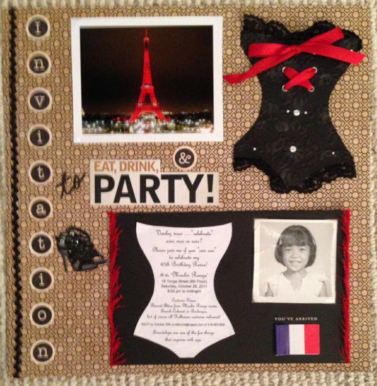 110 best Moulin Rouge Party Ideas images on Pinterest ...