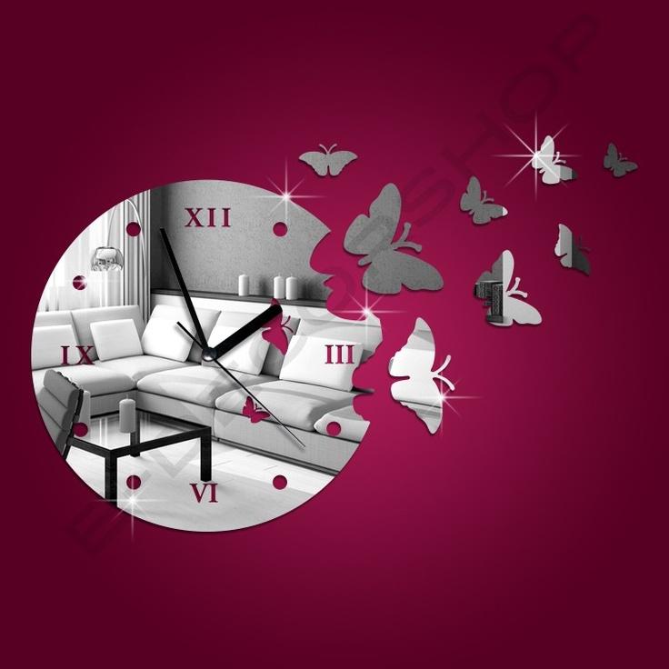 Decorative Mirror Wall Clock