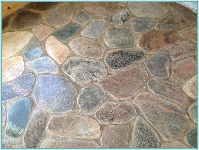 Striking Stone Veneer Flooring