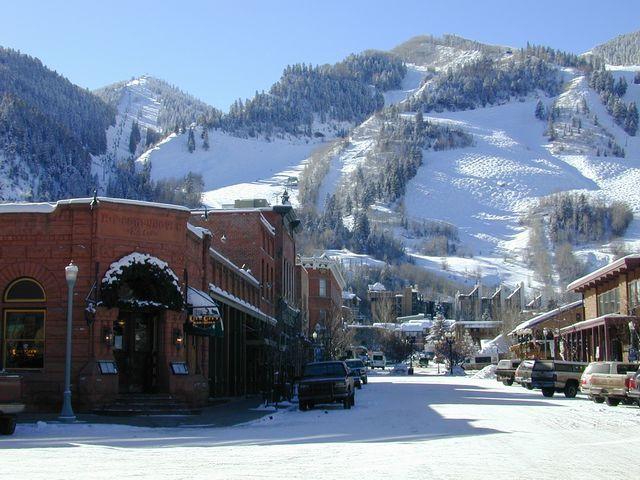Beautiful Aspen, Colorado.
