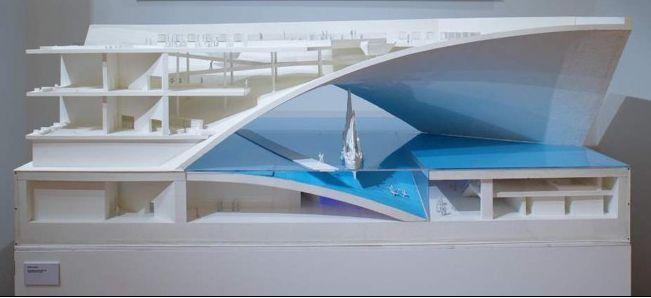 maritime museum for abu dhabi design by tadao ando