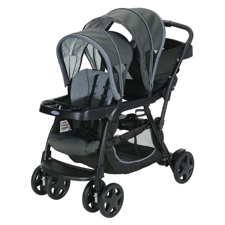 Graco Ready2Grow Click Connect Double Stroller Whitmore