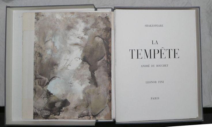 [FINI (Léonor)] SHAKESPEARE (William) : La Tempête.    P. Au Dépens d'un Amateur 1965