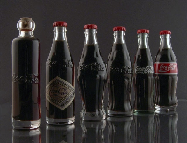 Coca Cola - Bottle Evolution