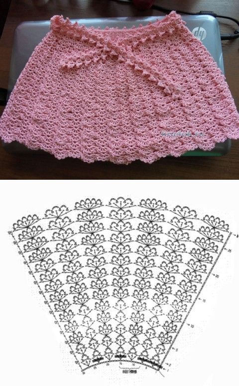 389 best Faldas niña images on Pinterest | Breien, Knitting projects ...