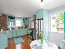 Robins Egg Blue Kitchen Cabinets In New Jersey