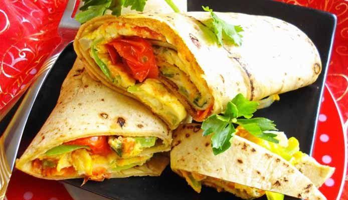 Surinaams eten – Roti Omeletta Slankie (slank, gezond, vetarm en toch lekker)