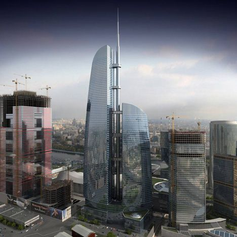 Federation Towers – Vostok Tower, Russia, by nps+partner and Schweger Associated Architects