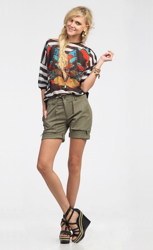 LOOKBOOK SPRING/SUMMER 2013 | Forel Blouse_Product code 448048