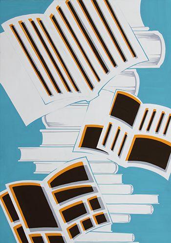2014年度 多摩美術大学 情報デザイン学科 現役合格者再現作品:色彩構成