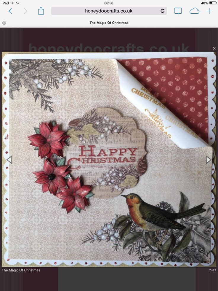 Craftwork cards Magic of Christmas