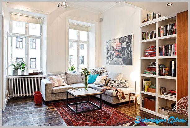 Küçük Evler Nasıl Dekore Edilir? - http://www.dekorasyonadresi.com/kucuk-evler-nasil-dekore-edilir/