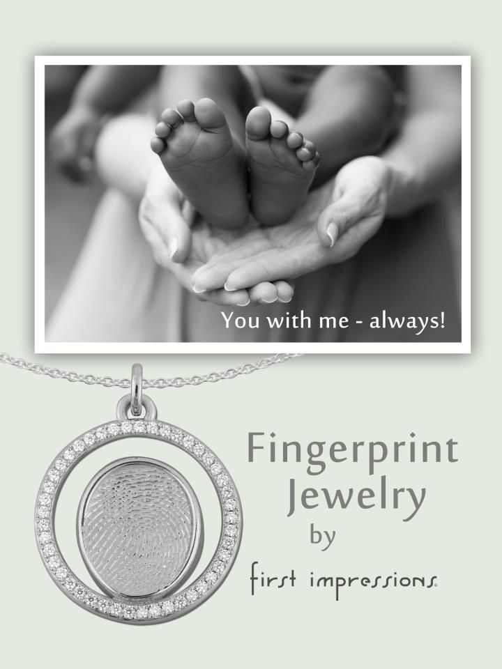 42 best stuller images on pinterest diamond band rings for Fingerprint jewelry by first impressions