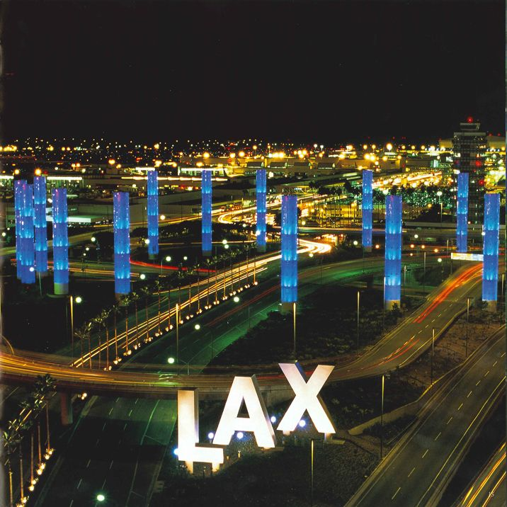 A 1961 View Of Terminal 7 At Lax Aerial Images Los Angeles International Airport Aerial View