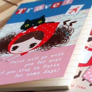 Cuaderno - Pura Girl Buy here: www.lacasadepapel.com