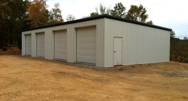 Single Slope Metal Garage Shop Metal Garages Pre Engineered Metal Buildings Metal Buildings