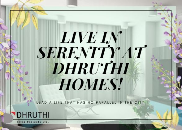 Having its Residential Projects set up in Ramamurthy Nagar and in Whitefiled, Bangalore, Dhruthi Infra Projects Ltd  endures to amaze the network of home buyers with its matchless offerings. We are presenting incredible #GatedCommunities with brilliantly designed towers in each of its projects; with amenities that match for a serenity living and much more things to complement a great life to its habitats.  Message us to schedule a showing!