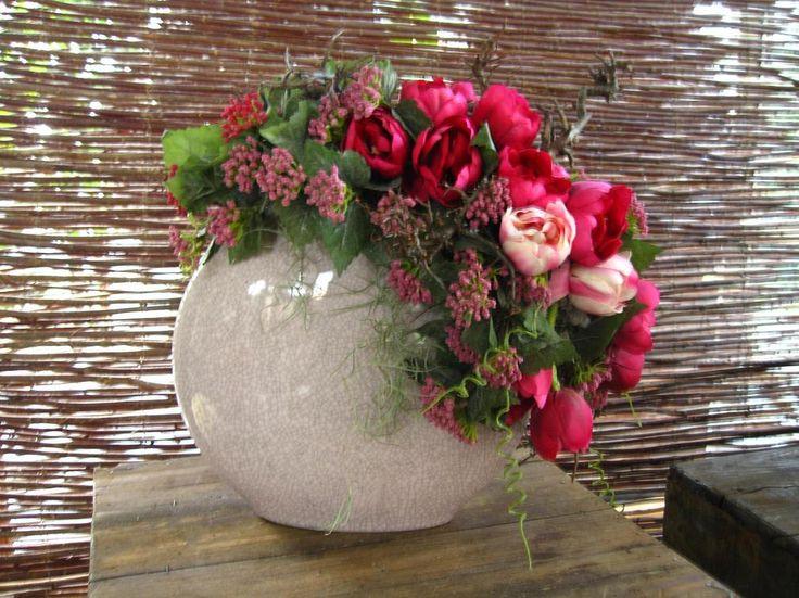 Znalezione obrazy dla zapytania bloemschikken vaas