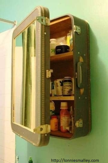 Reusing an old suitcase