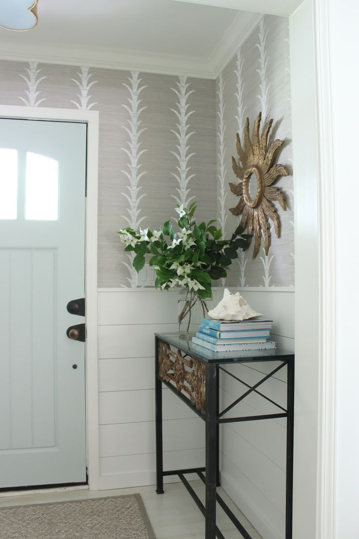 Small Blue Foyer : Ideas about small foyers on pinterest foyer