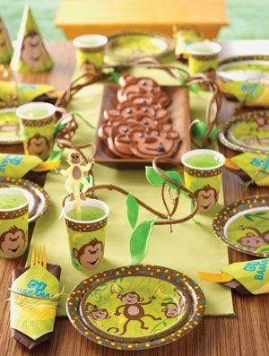 Apen kinder feest - Monkey kids party