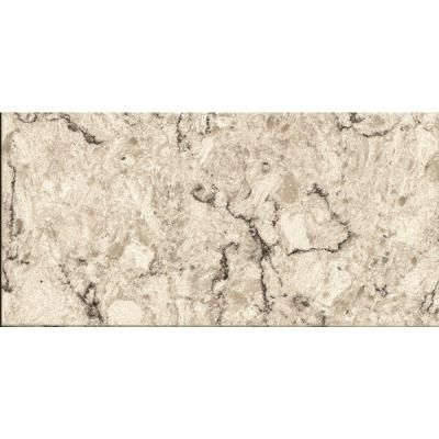 LG Viatera Quartz Countertop In Aria   Take Home   The Home Depot