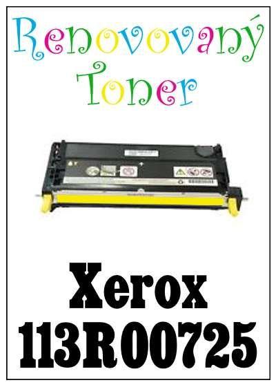 Renovovaný toner Xerox 113R00725 za bezva cenu 2389 Kč