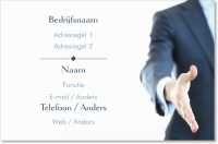 hand handdruk Standaard visitekaartjes