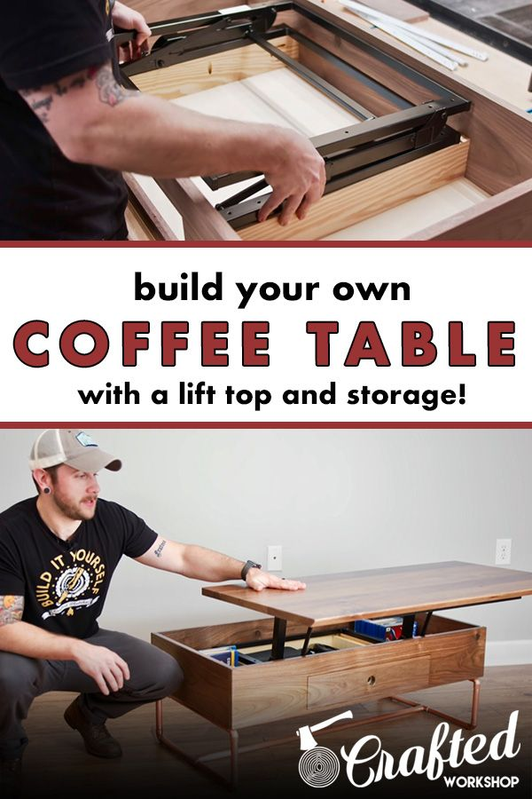 This Coffee Table Has Unique Hardware From Rockler To Make A Highly Functional Lift Top Coffee With Images Coffee Table Hardware Lift Up Coffee Table Lift Top Coffee Table