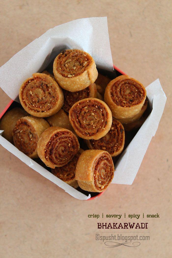 Spusht | #Indian #Snack | #Bhakarwadi #Recipe