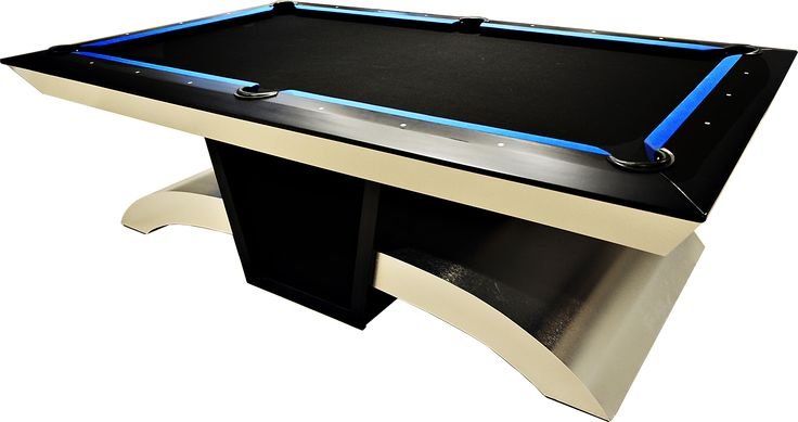 7' or 8' Viper style custom pool table. Price includes complete customization, accessories, crating & shipping (customer is responsible for installation).