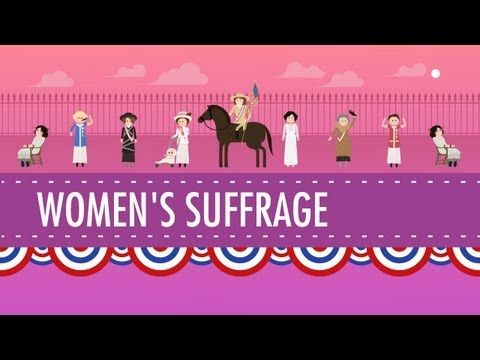 Women's Suffrage: Crash Course US History #31 - YouTube