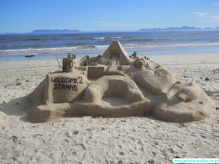 Sand Castle, Strand Beach, South Africa # South Africa # Strand # Beach