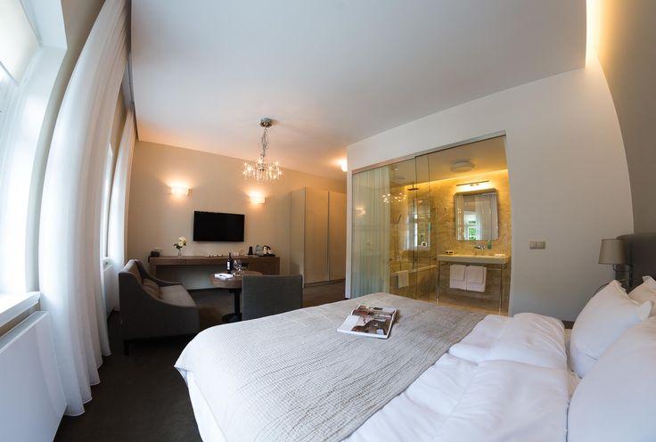 pokój hotelowy w stylu klasycznym www.studiotf.pl
