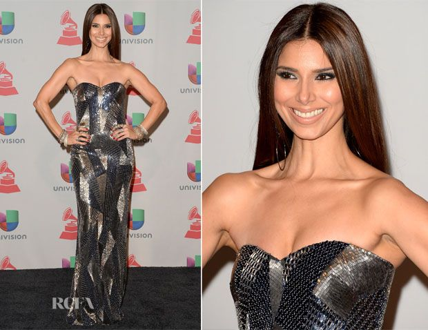 Roselyn Sanchez In Rani Zakhem Couture - Latin Grammy Awards 2013