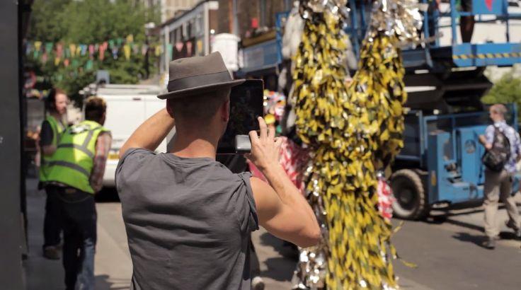 Ram Place Fashion Market London video filming