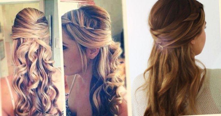 Beautiful Abiball Frisuren Lange Haare Halboffen