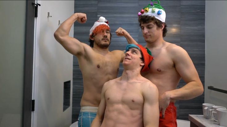 Mark, Tyler, and Ethan>>> Tyler: Ethan WTF are you doing?! Ethan:I don't know what's my life? Mark: I'm sexy and I know it