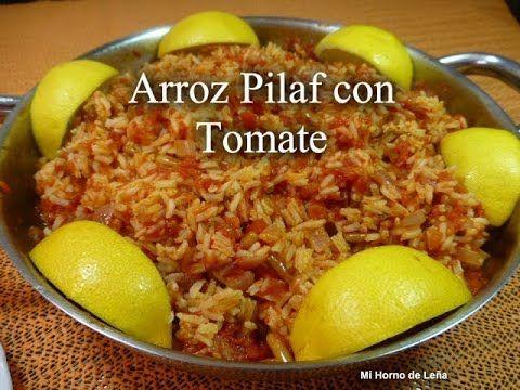 Receta de arroz pilaf con tomate. Muy rico y fácil de hacer, sigue la receta paso a paso.
