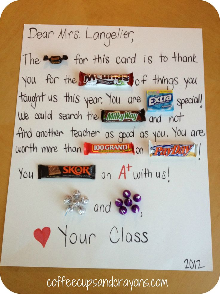 candy bar love notes | To go along with the school supply theme we made these super cute Post ...