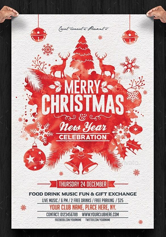 Christmas Party Flyer.Christmas Party Flyer Design Ideas Christmas Party