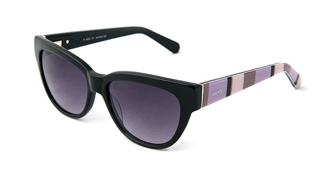 Infinity Sunglasses IF8202 BLACK - Ladies Prescription SUNGLASSES - Find a great pair today with our free Home Try-On service. Fast free shipping both ways.