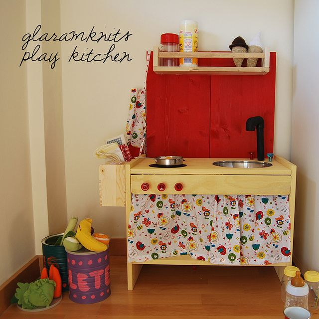 Wood Play Kitchen Ikea how to build toy appliances for a kid's kitchen | how tos | diy